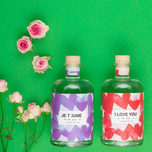 Blue hearts collection by make your own spirit