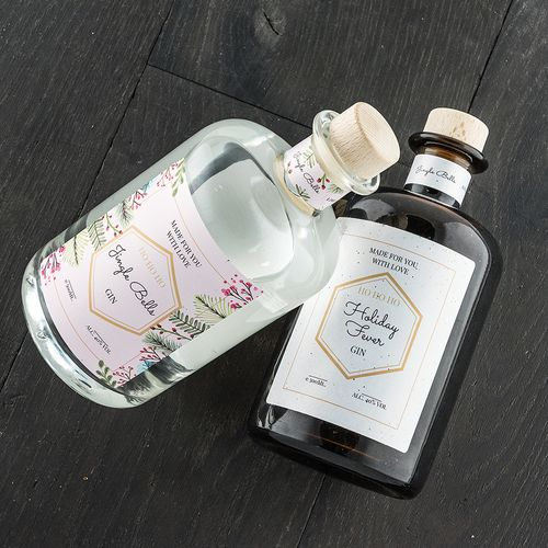 Combo christmas bottles collection by make your own spirit