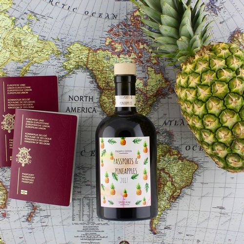 Passports pineapples collection by make your own spirit