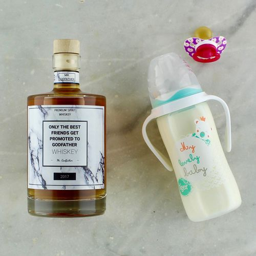 Only the best friends get promoted to godfather collection by make your own spirit